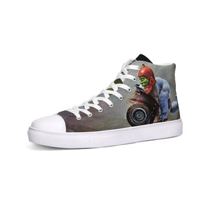 Kronis Kicks: High Top Canvas Shoe