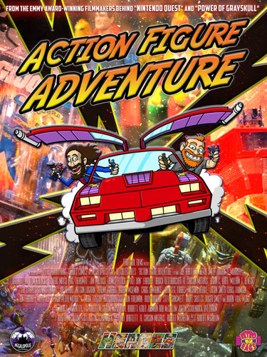 Action Figure Adventure Poster 18