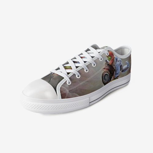 Kronis Kicks: Low Top Canvas Shoes (Men's)