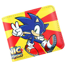 Load image into Gallery viewer, Sonic the Hedgehog Wallet for Boy Girl