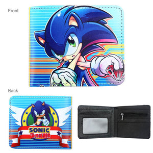 Sonic the Hedgehog Wallet for Boy Girl