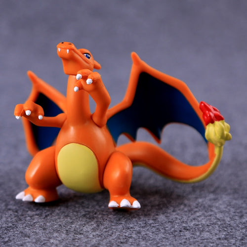 Charizard Pikachu Meowth Anime Toys Collection
