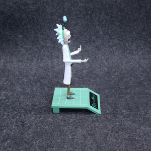 16cm Rick and Morty Peace Among Worlds Statue Action Figure Toys