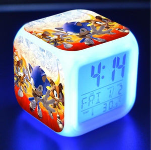 Sonic The Hedgehog LED Touch Light Alarm