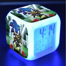 Load image into Gallery viewer, Sonic The Hedgehog LED Touch Light Alarm