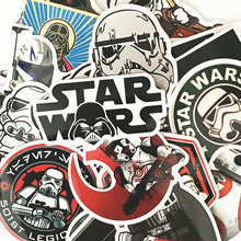 Load image into Gallery viewer, 50pcs Star Wars Decals Waterproof Stickers