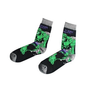 Harajuku Super Hero Cotton Socks