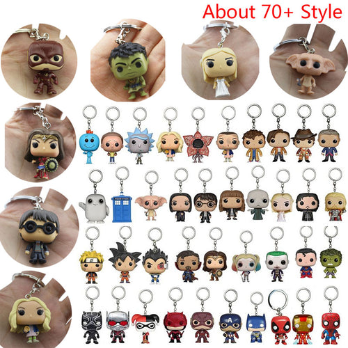 Collection Model Toys Keychain