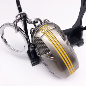 PUBG Helmet Backpack Battlegrounds Keychain