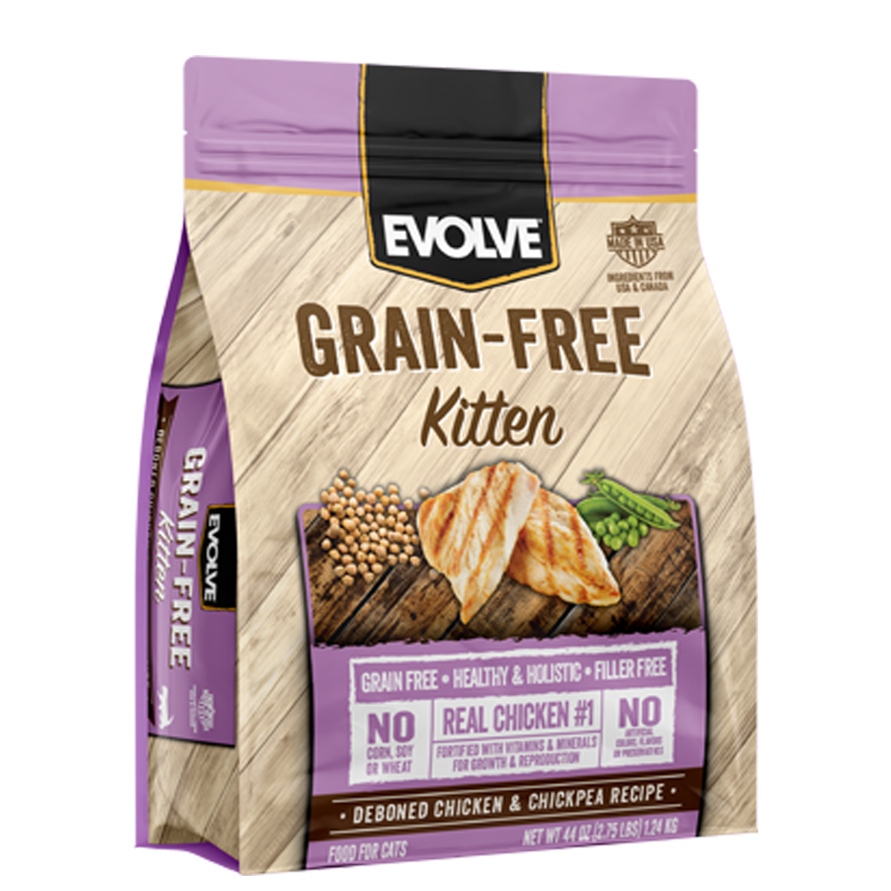 Evolve Grain Free Kitten Food