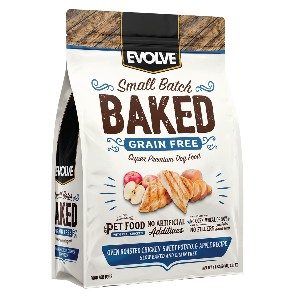 Evolve BAKED Chicken, Sweet Potato, & Apple Recipe Dog Food