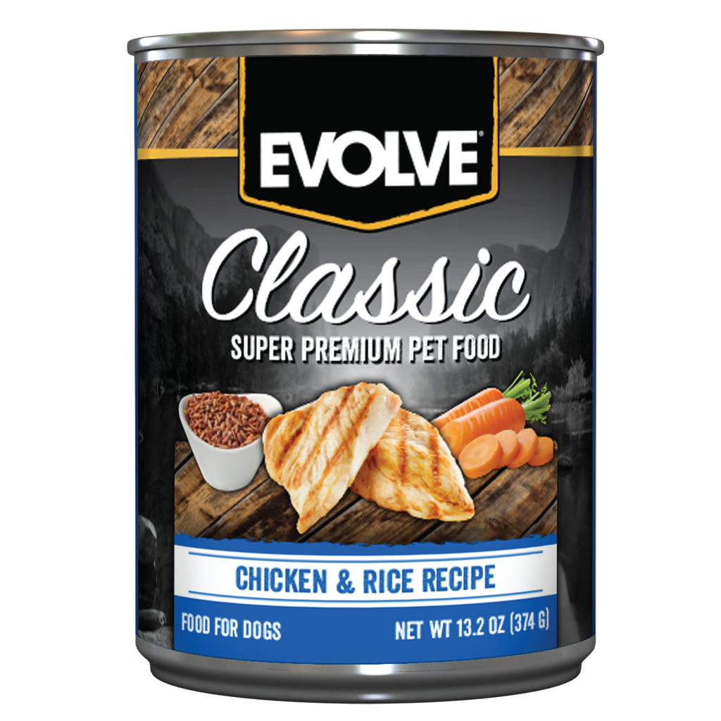 Evolve Classic Chicken & Rice Recipe Dog Food