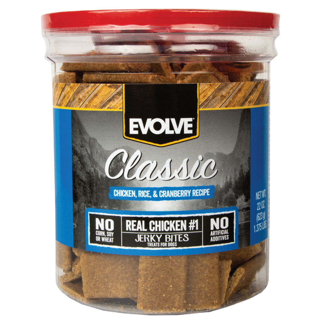 Evolve Classic Chicken Rice & Cranberry Bites