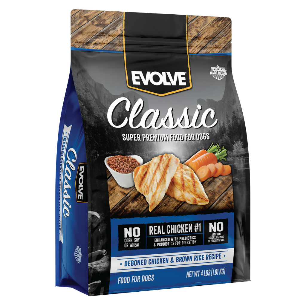 Evolve Classic Chicken & Brown Rice Formula Dog Food