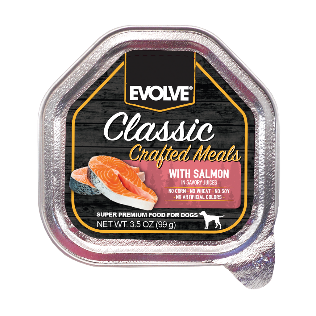 Evolve Classic Crafted Meals with Salmon Dog Food