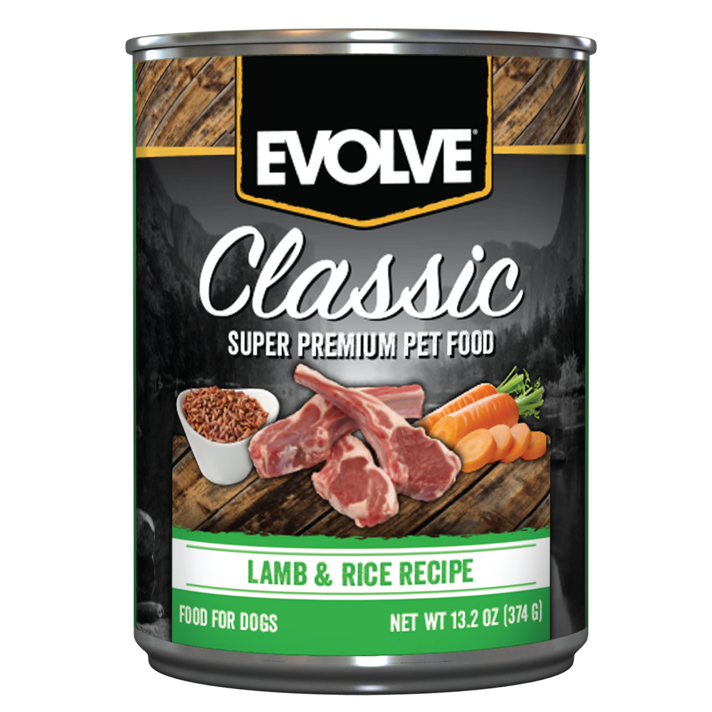 Evolve Classic Lamb & Rice Recipe Dog Food