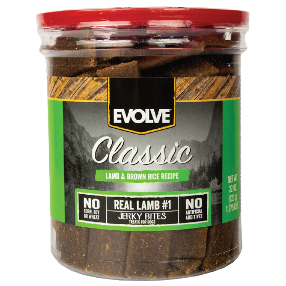 Evolve Classic Lamb & Brown Rice Bites