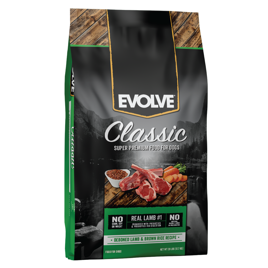 Evolve Classic Lamb & Brown Rice Recipe Dog Food