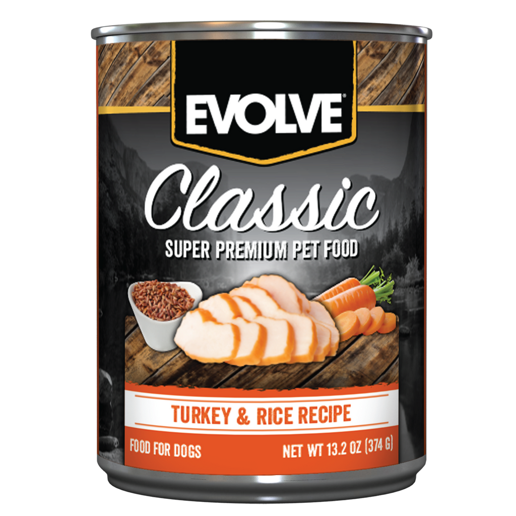 Evolve Classic Turkey & Rice Recipe Dog Food