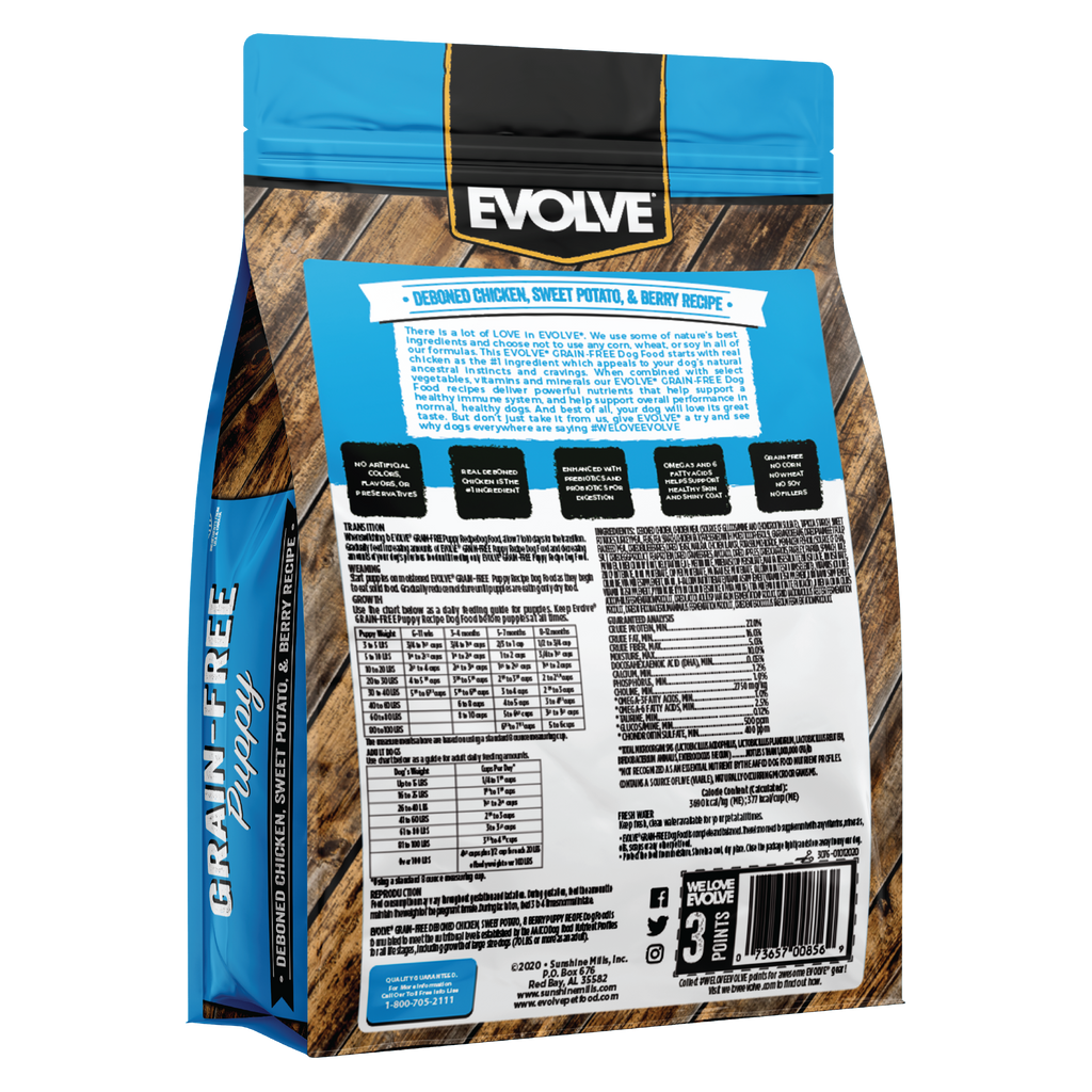 Evolve Grain Free Puppy Food