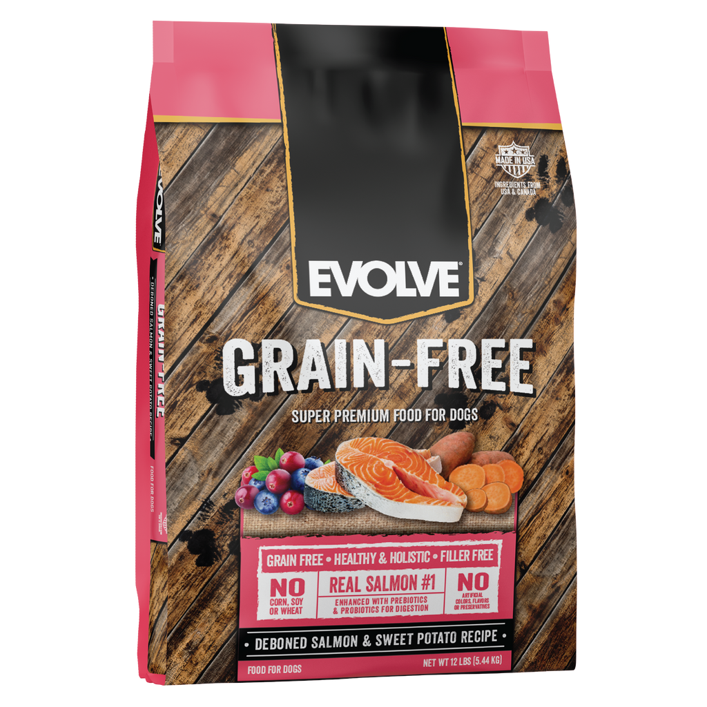 Evolve Grain Free Salmon & Sweet Potato Recipe Dog Food