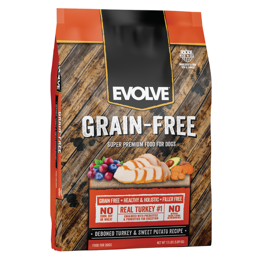 Evolve Grain Free Turkey & Sweet Potato Recipe Dog Food