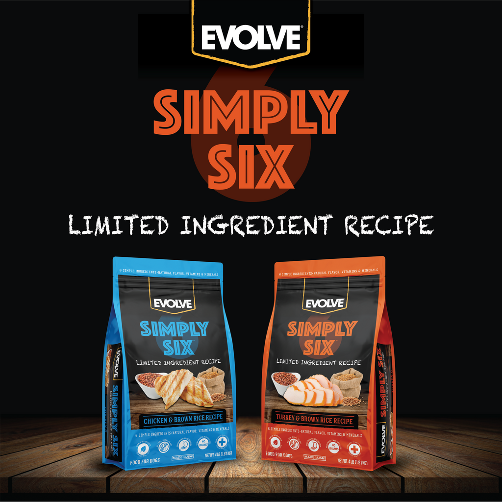 Evolve Simply Six Limited Ingredient Dog Food - Turkey
