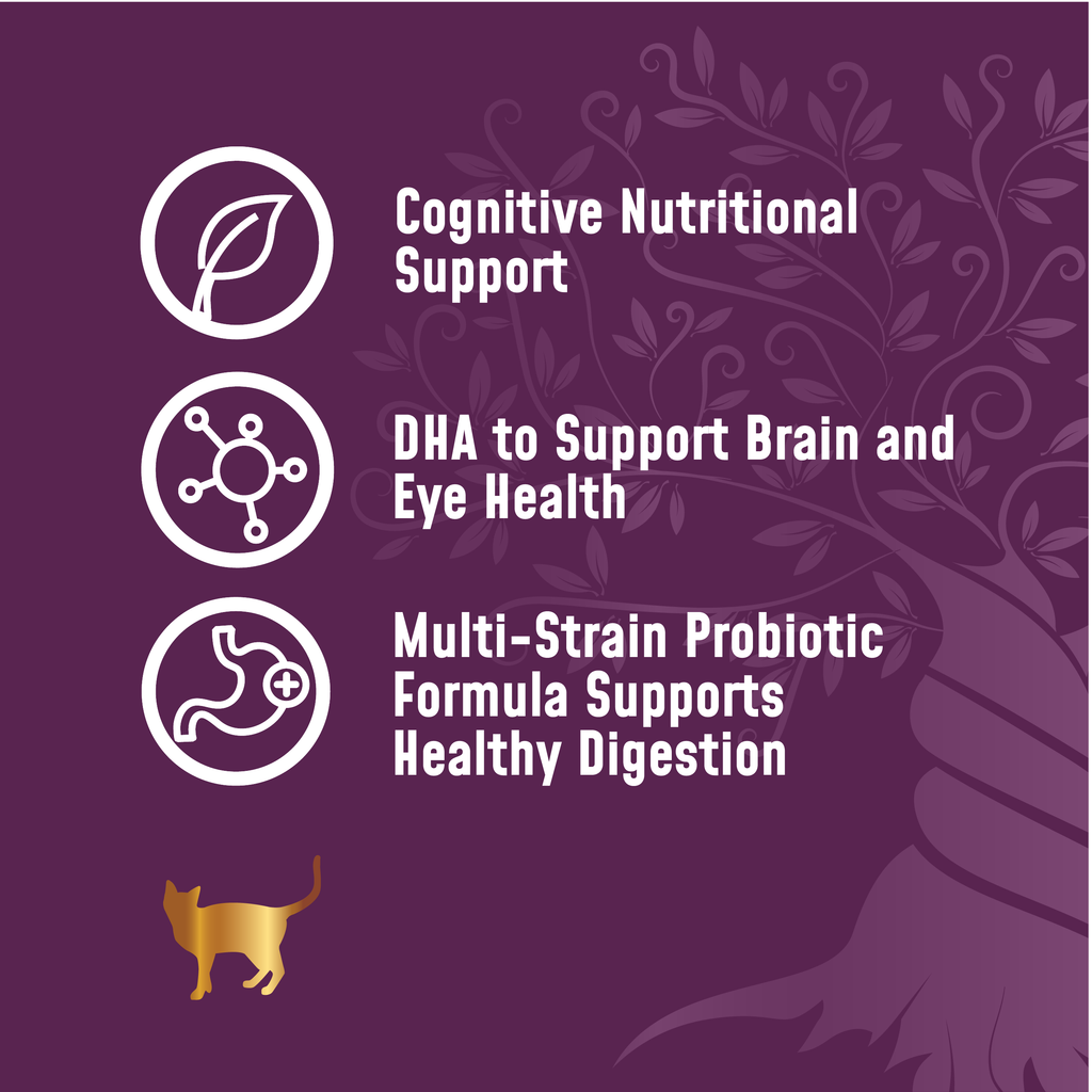 Veterinary Select Protect Healthy Mind Probiotic Supplement for Cats