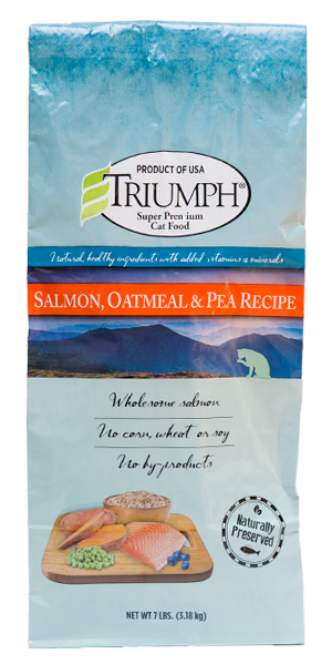 Triumph Salmon, Oatmeal & Pea Recipe Cat Food