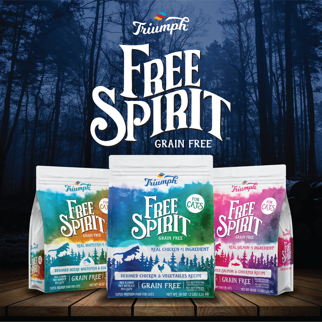 Triumph Free Spirit Grain Free Chicken & Vegetables Recipe Cat Food