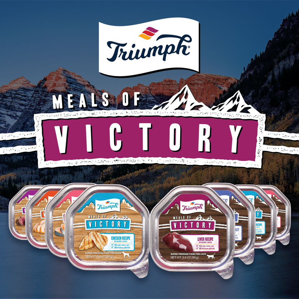 Triumph Meals of Victory Liver Recipe Cat Food