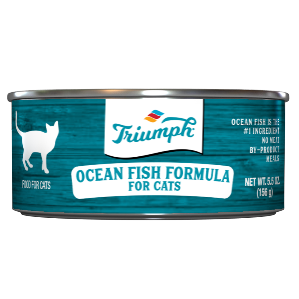 Triumph Ocean Fish Formula Cat Food