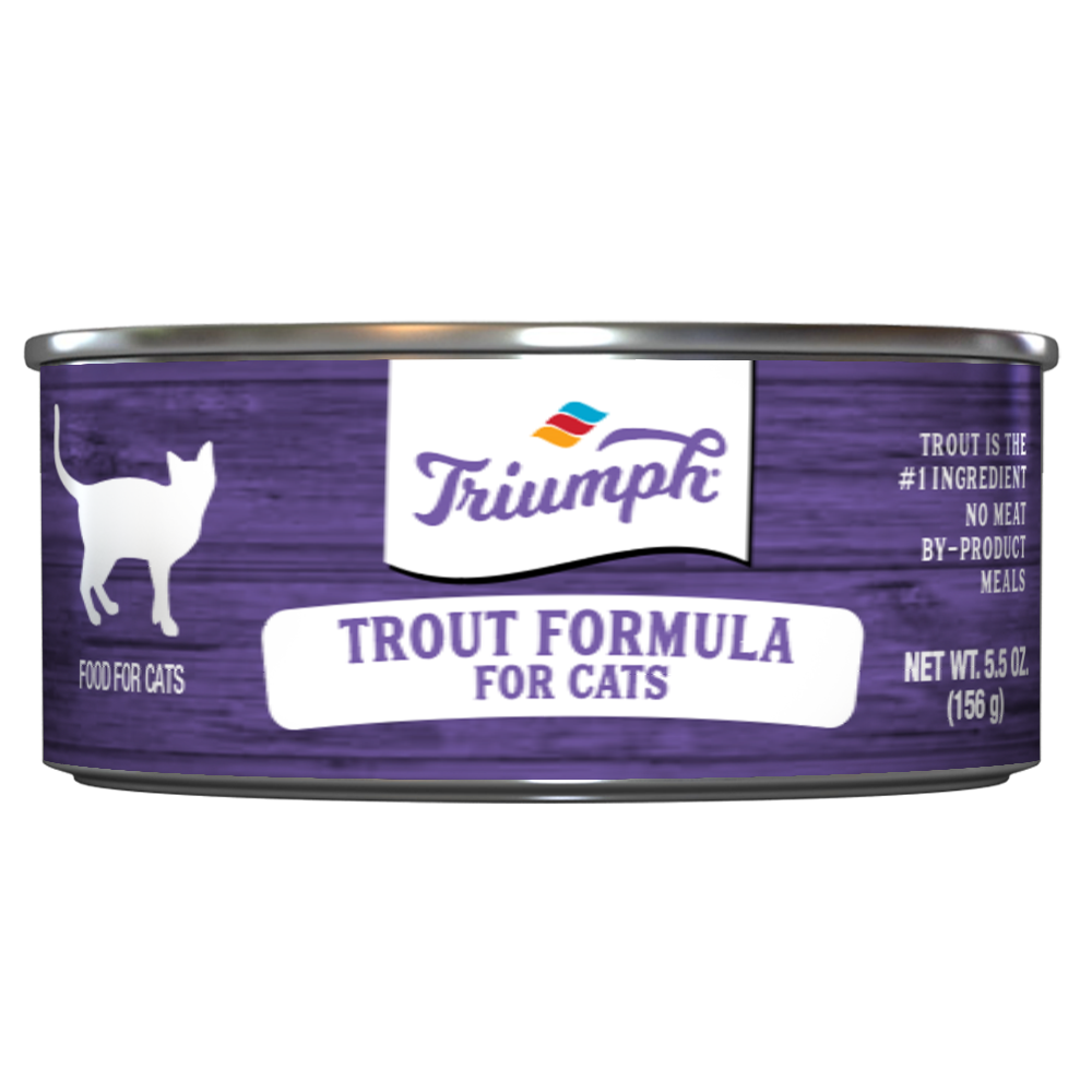 Triumph Trout Formula Cat Food