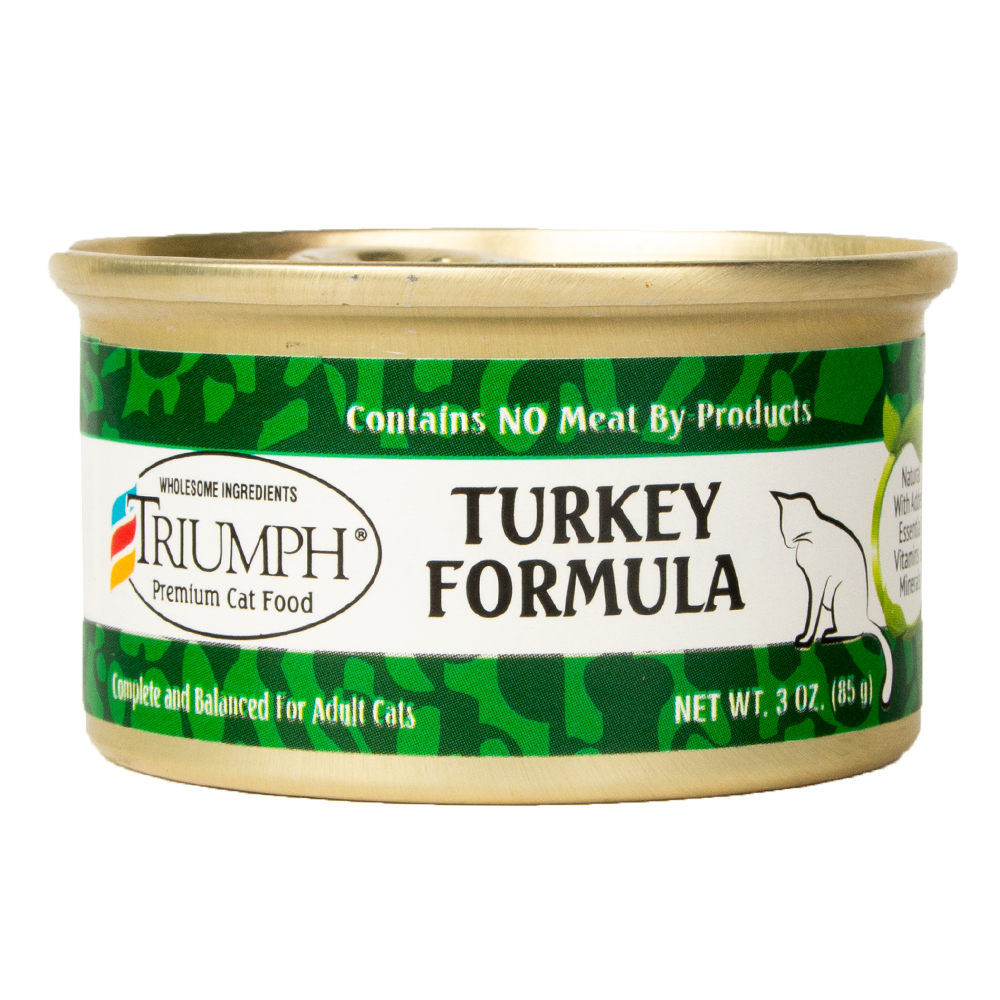 Triumph Turkey Formula Cat Food