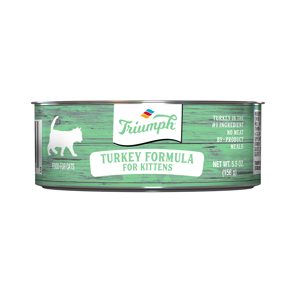 Triumph Turkey Formula Kitten Food