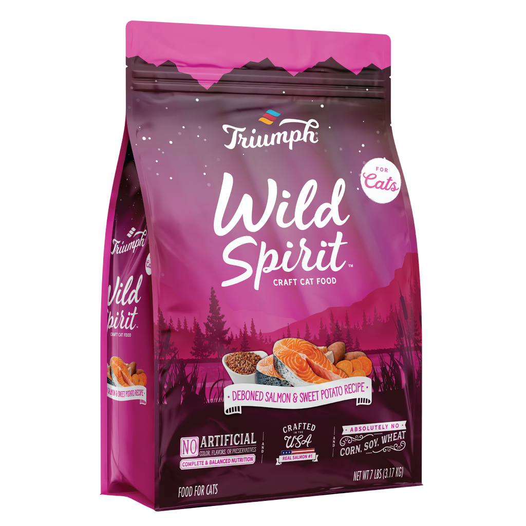 Triumph Wild Spirit Deboned Salmon & Sweet Potato Recipe Cat Food