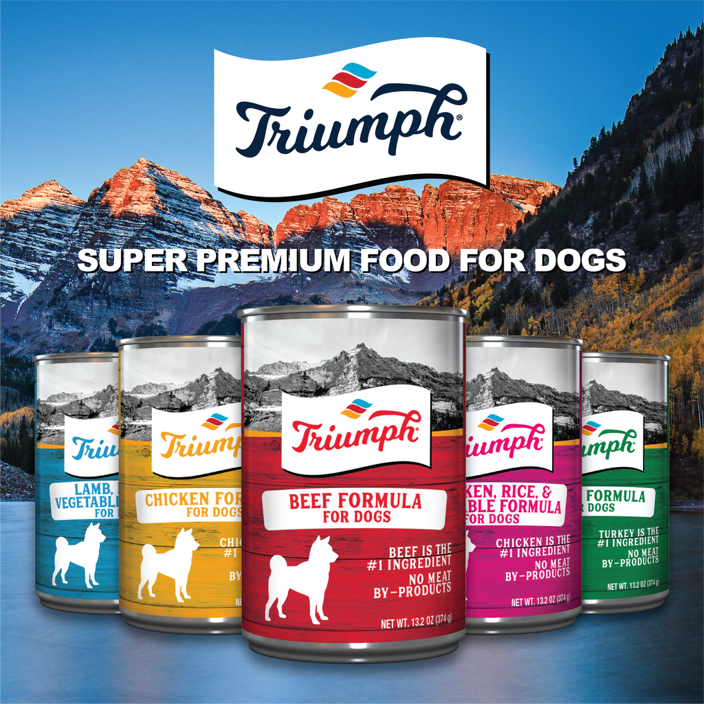 Triumph Beef Formula For Dogs