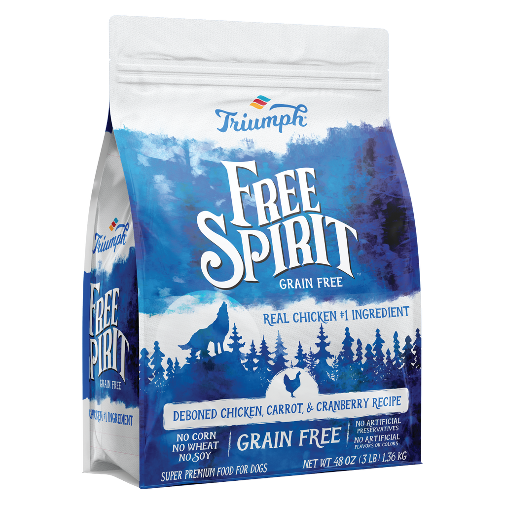 Free Spirit Deboned Chicken, Carrot, & Cranberry Recipe Dog Food