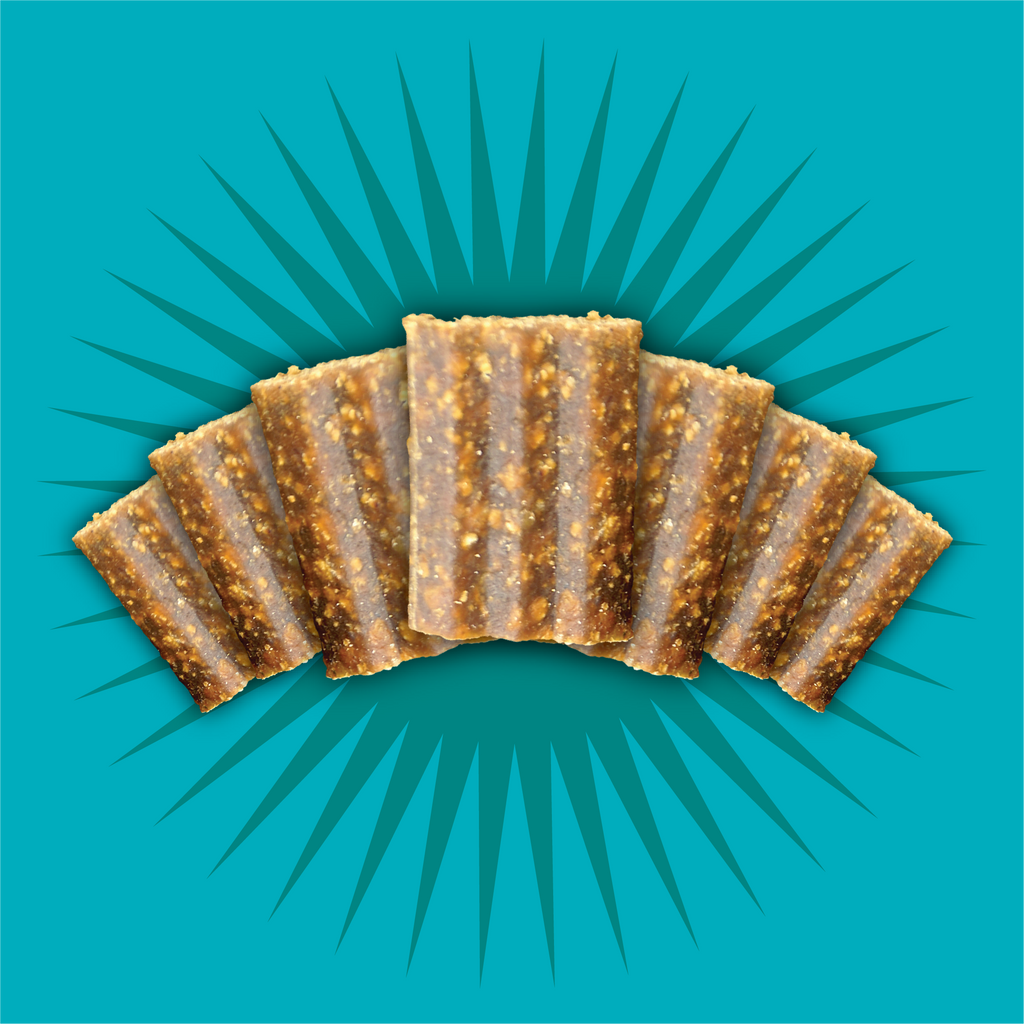 Triumph Free Spirit Grain Free Duck, Vegetable, and Blueberry Recipe Jerky Bites