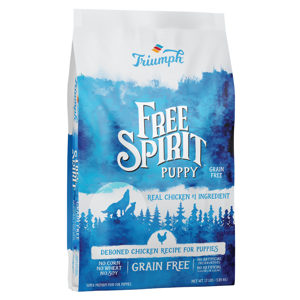 Free Spirit Puppy Deboned Chicken, Sweet Potato, & Berry Recipe Puppy Food