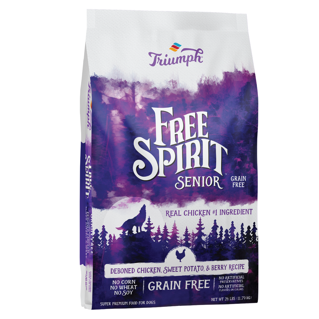 Free Spirit Senior Deboned Chicken, Sweet Potato, & Berry Recipe Dog Food
