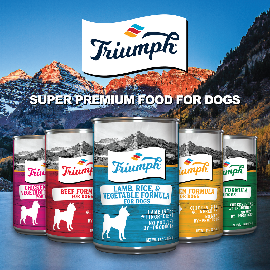 Triumph Lamb, Rice and Vegetable Formula For Dogs