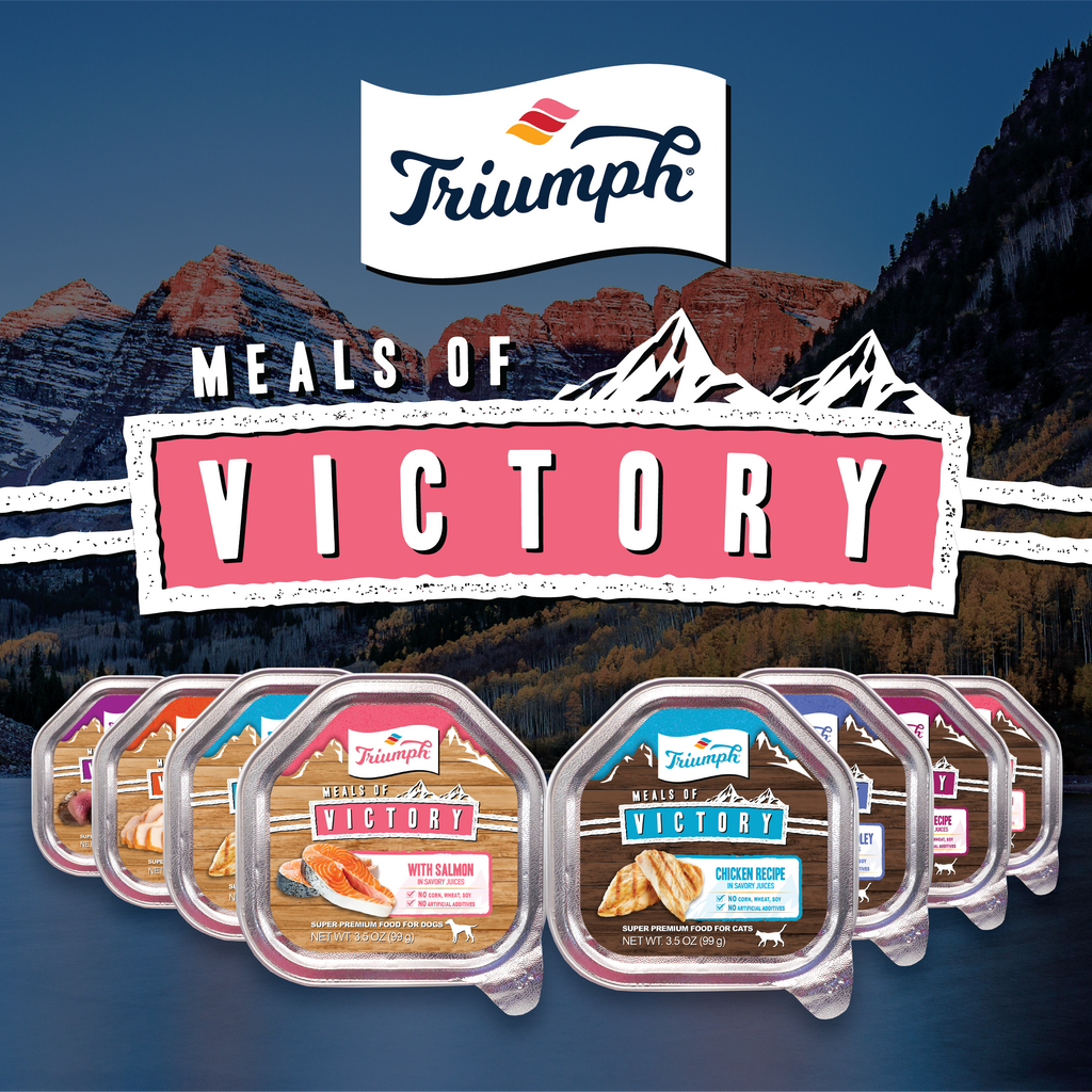 Triumph Meals of Victory With Salmon Recipe Dog Food
