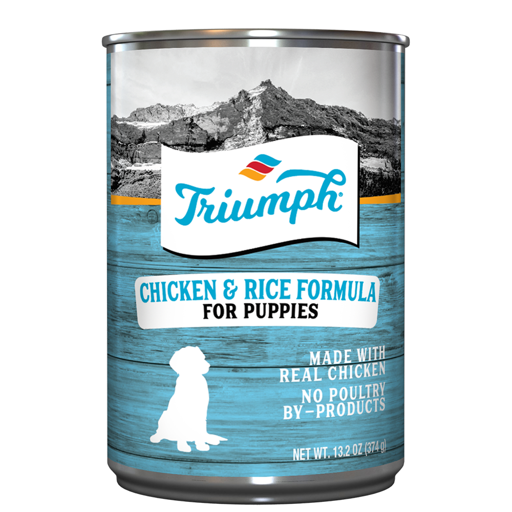 Triumph Chicken and Rice Formula For Puppies