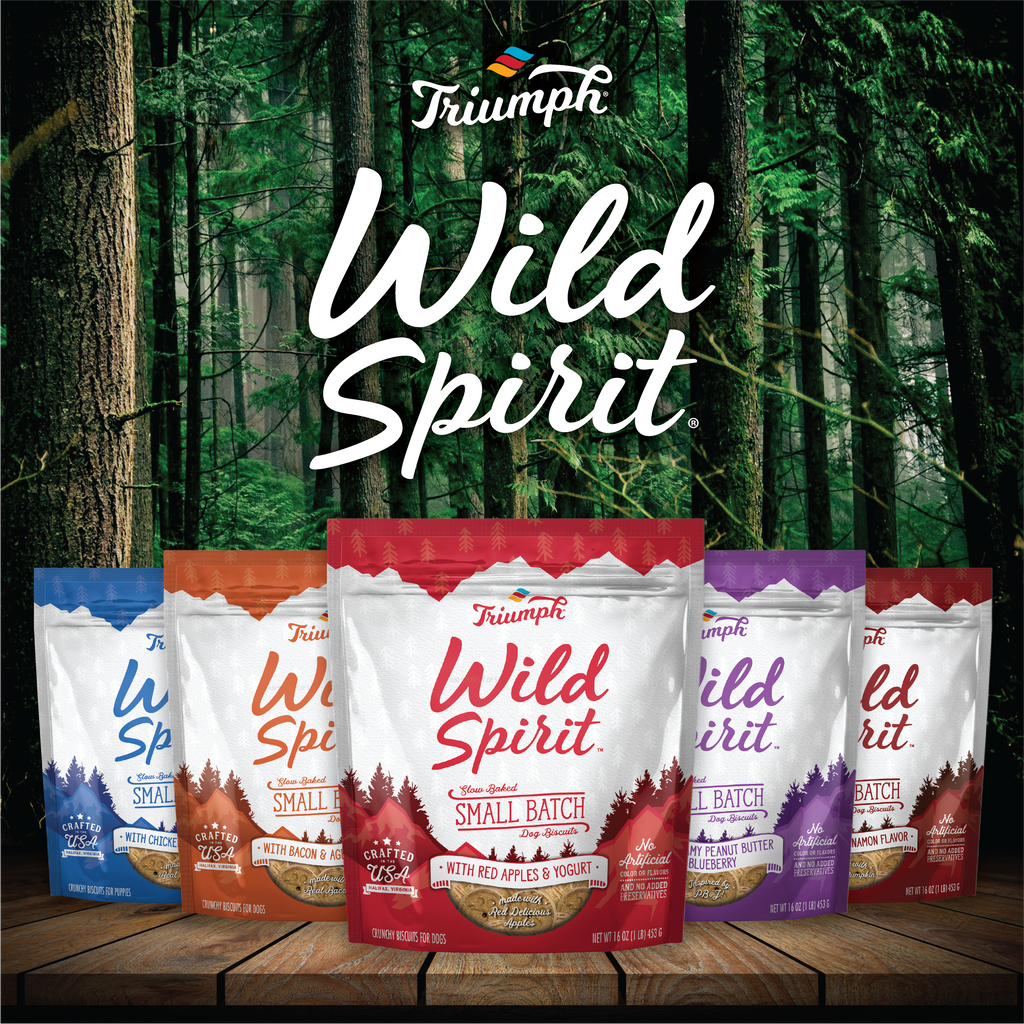 Triumph Wild Spirit Small Batch Biscuits - Red Apples & Yogurt