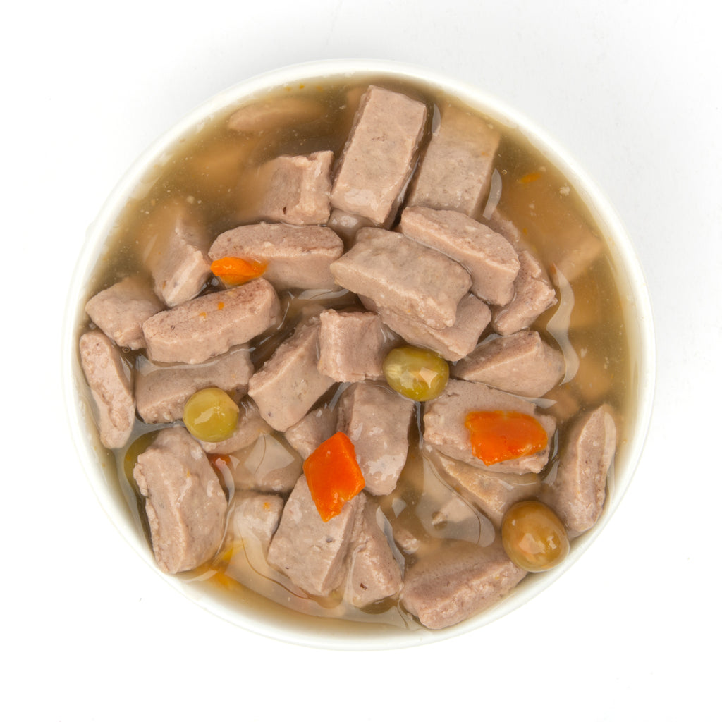 Evolve Grain Free Turkey Stew with Veggies in Gravy Cat Food