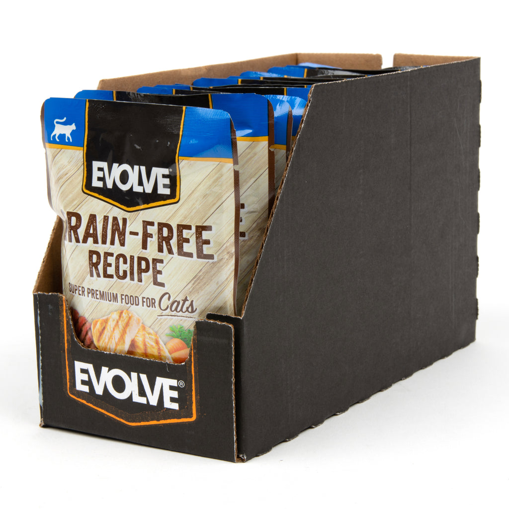 Evolve Grain Free Chicken & Beef Recipe in Gravy Cat Food