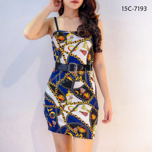 Vintage Retro Inspired String Dress