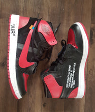Load image into Gallery viewer, Air Jordan 1 Banned Off White