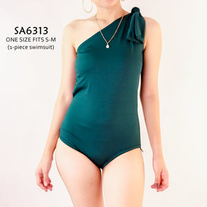 Asymmetric One-piece Swimsuit